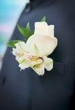 Botón de la boda Imagen de archivo libre de regalías