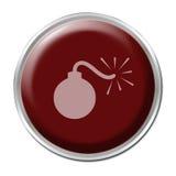 Botón de la bomba Imagenes de archivo
