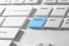 Botón de la cancelación en un teclado Fotografía de archivo libre de regalías