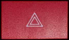 Botón 2 de la emergencia del coche Fotos de archivo libres de regalías