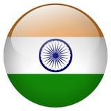 Botón de la India ilustración del vector