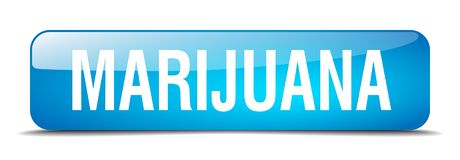 botón de la marijuana Libre Illustration