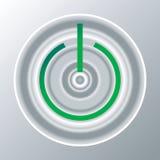 Botón de la potencia Fotografía de archivo libre de regalías