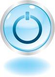 Botón de la potencia ilustración del vector