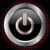 Botón de la potencia - vector Imágenes de archivo libres de regalías