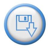 Botón de la transferencia directa Imagen de archivo