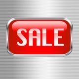 Botón de la venta Fotografía de archivo