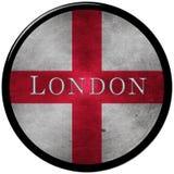 Botón de Londres stock de ilustración