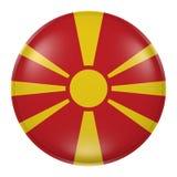 Botón de Macedonia Imágenes de archivo libres de regalías