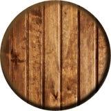 Botón de madera Imágenes de archivo libres de regalías