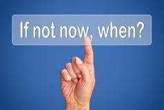 Botón de motivación Foto de archivo libre de regalías