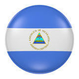 Botón de Nicaragua Imagen de archivo
