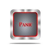 Botón de pánico. Foto de archivo libre de regalías