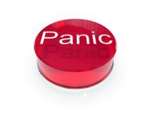 Botón de pánico Fotos de archivo libres de regalías