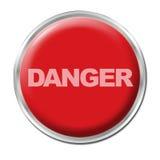 Botón de pánico Fotos de archivo