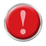 Botón de pánico Imagen de archivo