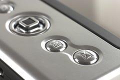Botón de PDA Foto de archivo