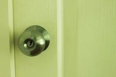 Botón de puerta Imagen de archivo
