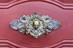 Botón de puerta de Setúbal Fotos de archivo