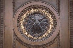 Botón de puerta en Viena imagenes de archivo