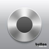 Botón de registro del metal Imágenes de archivo libres de regalías