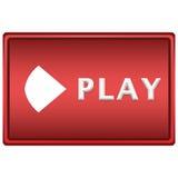 Botón de reproducción Imágenes de archivo libres de regalías
