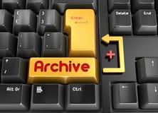Botón del archivo Fotos de archivo libres de regalías