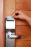 Botón del elevador Fotografía de archivo