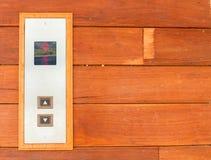 Botón del elevador Imágenes de archivo libres de regalías