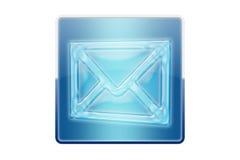 Botón del email Imágenes de archivo libres de regalías