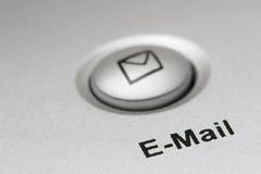 Botón del email Fotografía de archivo libre de regalías