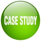 Botón del estudio de caso stock de ilustración
