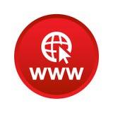 botón del icono del explorador Web libre illustration