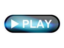 Botón del juego imagen de archivo libre de regalías