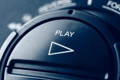 Botón del juego Imagenes de archivo