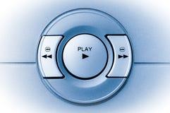 Botón del juego Foto de archivo libre de regalías