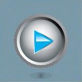 Botón del juego Fotos de archivo