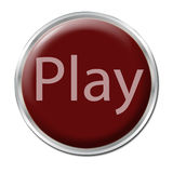 Botón del juego Imágenes de archivo libres de regalías