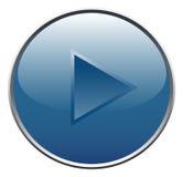 Botón del jugador Fotografía de archivo