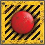Botón del lanzamiento ilustración del vector