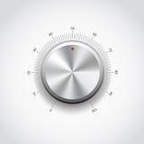 Botón del metal ilustración del vector