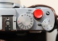 Botón del obturador imagen de archivo libre de regalías