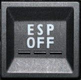 Botón del panel de control  Fotos de archivo libres de regalías