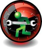 Botón del soporte técnico Imagenes de archivo