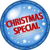 Botón del special de la Navidad stock de ilustración