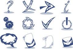 Botón del tatuaje Fotos de archivo libres de regalías