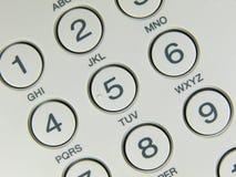 Botón del teléfono Fotos de archivo