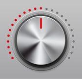 Botón del volumen Imagen de archivo libre de regalías