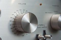 Botón del volumen Foto de archivo libre de regalías