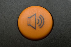 Botón del volumen imagenes de archivo